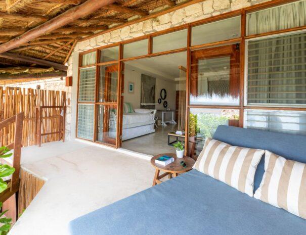 #9 Balcony view towards room